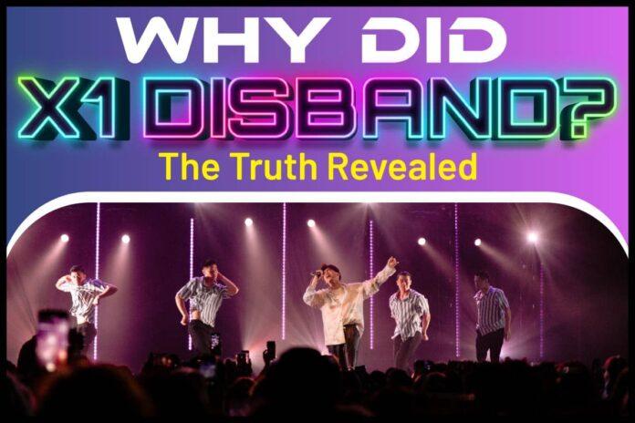 Why Did X1 Disband